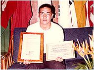 フィリピン共和国リザール州 ケソンシティー市名誉市民賞受賞